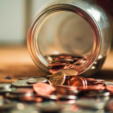 monety ze skarbonki