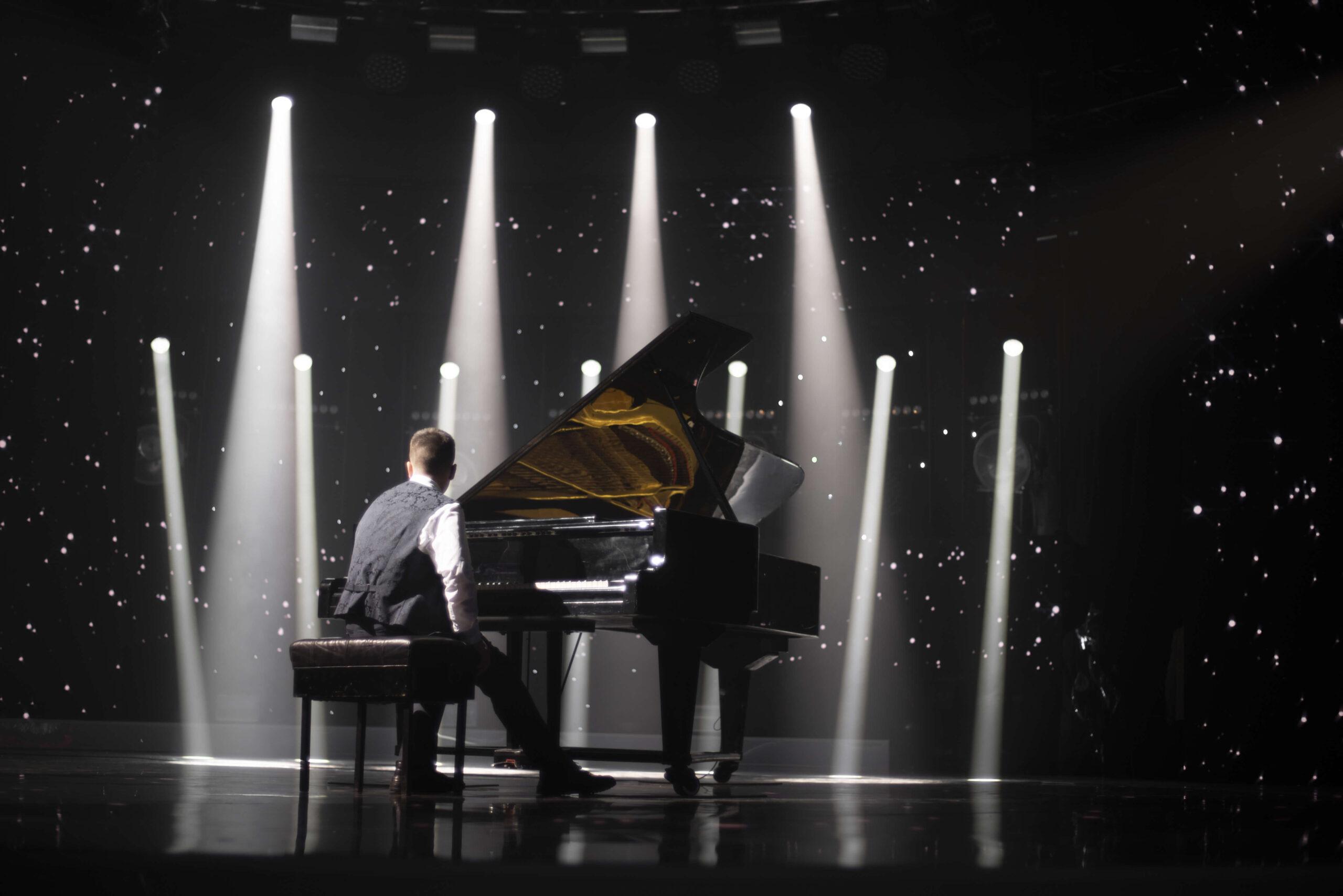 występ pianisty impreza firmowa