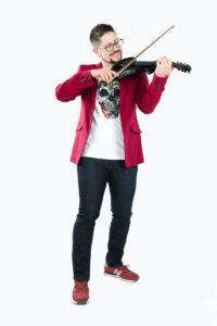 Dominik skrzypce na wesele