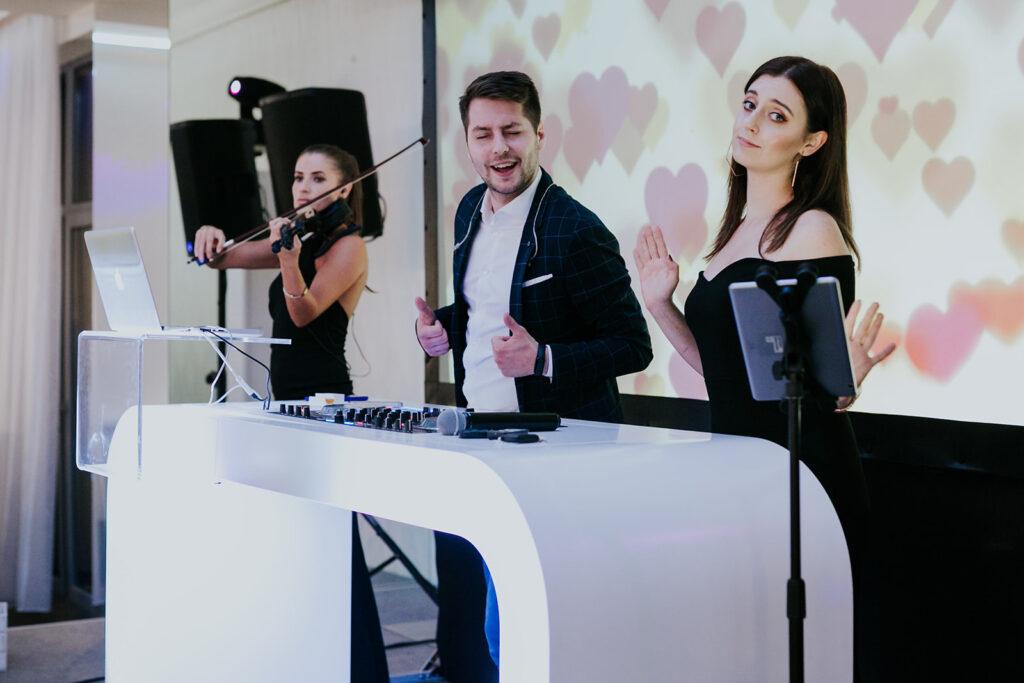 skrzypaczka dj i wokalistka na weselu fokus group