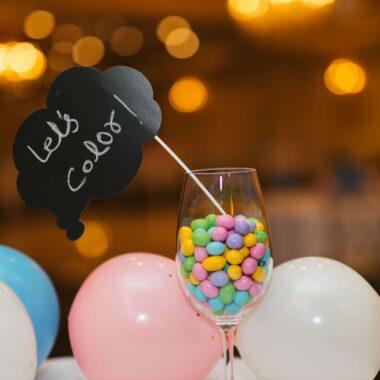 balony i cukiernki na weselu
