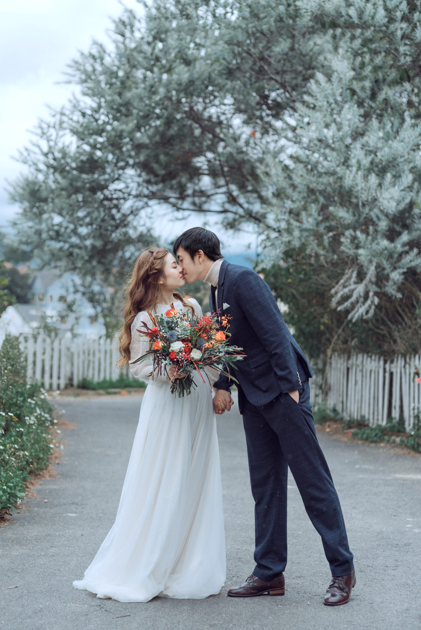 Para Młoda bierze ślub w zimę