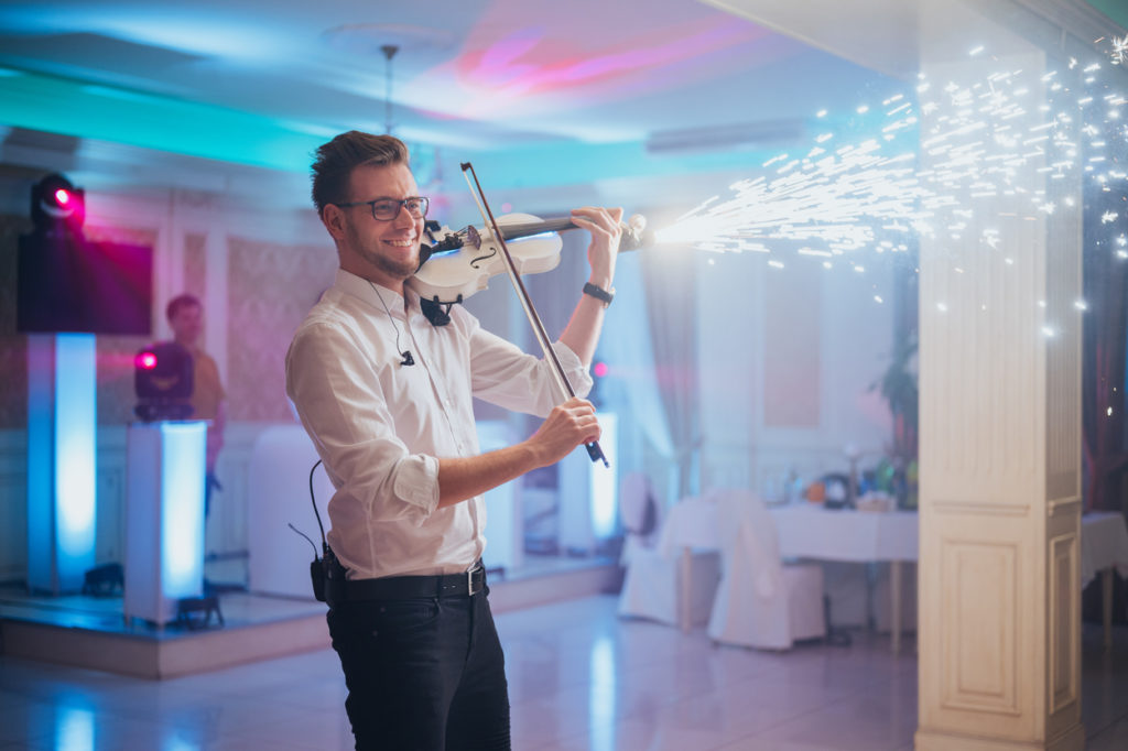 dj i skrzypek na wesele