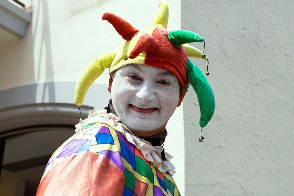 klaun na wesele